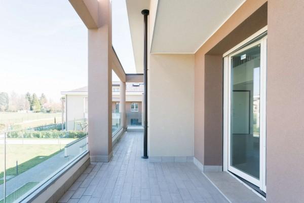 Appartamento in vendita a Cernusco sul Naviglio, Con giardino, 201 mq - Foto 21