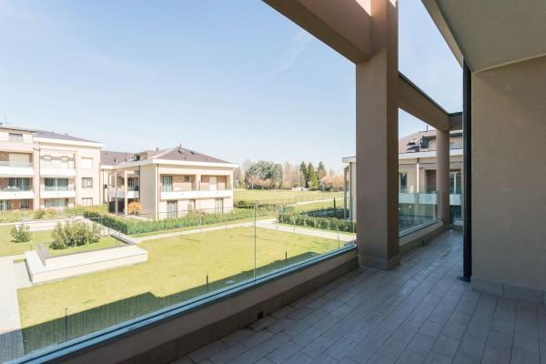 Appartamento in vendita a Cernusco sul Naviglio, Con giardino, 201 mq - Foto 22