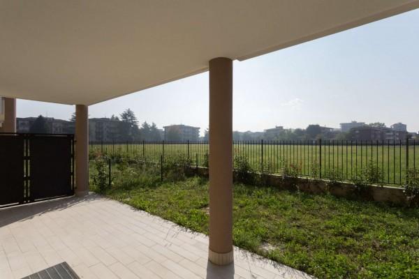 Appartamento in vendita a Cernusco sul Naviglio, Con giardino, 138 mq - Foto 19