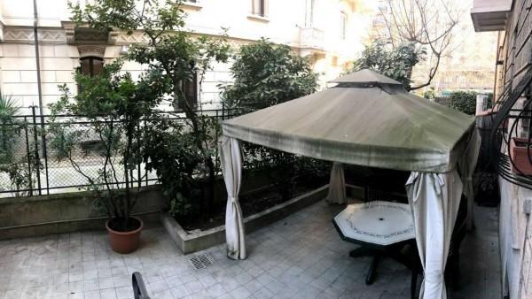 Appartamento in vendita a Milano, Con giardino, 170 mq - Foto 3