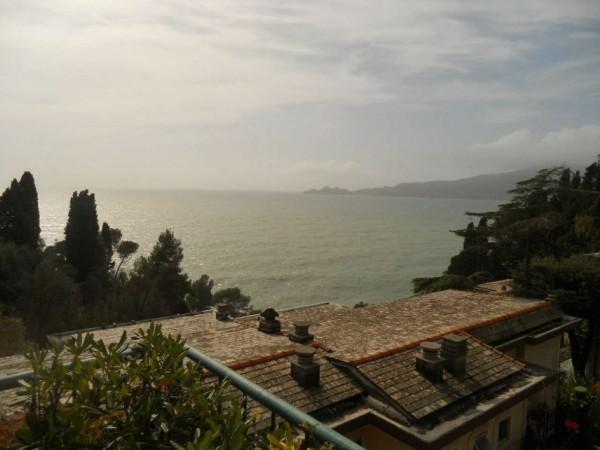 Appartamento in vendita a Zoagli, Castello Sam Benelli, Arredato, con giardino, 90 mq