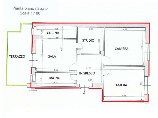 Appartamento in vendita a Alpignano, Centro, 115 mq - Foto 3