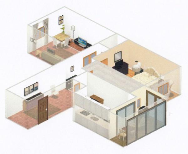 Appartamento in vendita a Firenze, 73 mq - Foto 2
