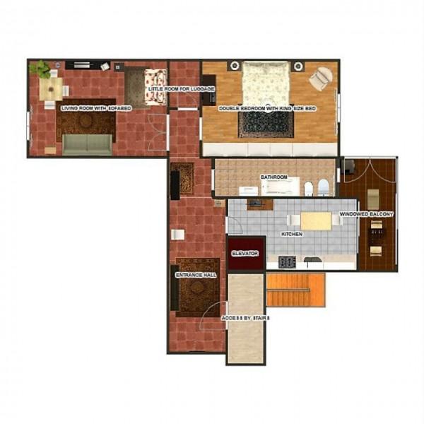 Appartamento in vendita a Firenze, 73 mq - Foto 3