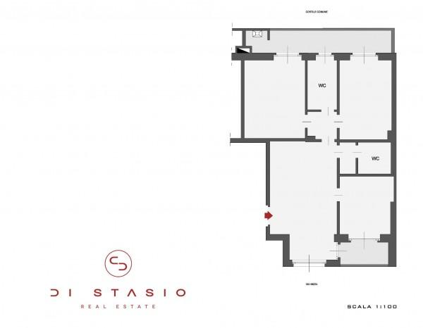 Appartamento in affitto a Torino, 115 mq - Foto 2
