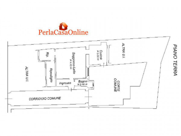 Appartamento in vendita a Forlì, Centro Storico, Arredato, con giardino, 50 mq - Foto 2