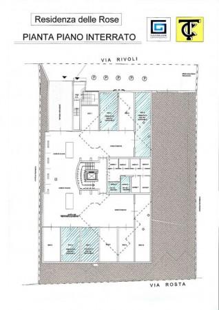 Appartamento in vendita a Alpignano, Semicentrale, Con giardino, 83 mq - Foto 4