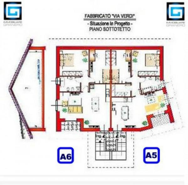 Appartamento in vendita a Alpignano, Musicisti, 90 mq - Foto 6