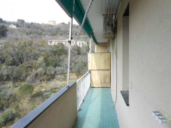 Appartamento in affitto a Genova, Adiacenze Monoblocco, Arredato, con giardino, 77 mq - Foto 28