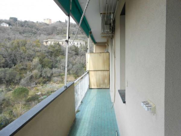 Appartamento in affitto a Genova, Adiacenze Monoblocco, Arredato, con giardino, 77 mq - Foto 14