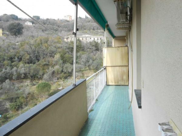 Appartamento in affitto a Genova, Adiacenze Monoblocco, Arredato, con giardino, 77 mq - Foto 13