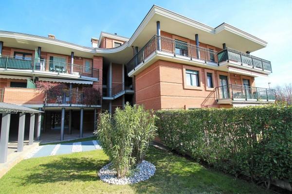 Appartamento in vendita a Alpignano, Centro, Arredato, con giardino, 87 mq