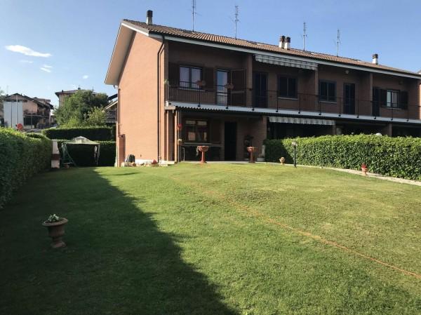 Villa in vendita a San Gillio, Centro, Con giardino, 229 mq