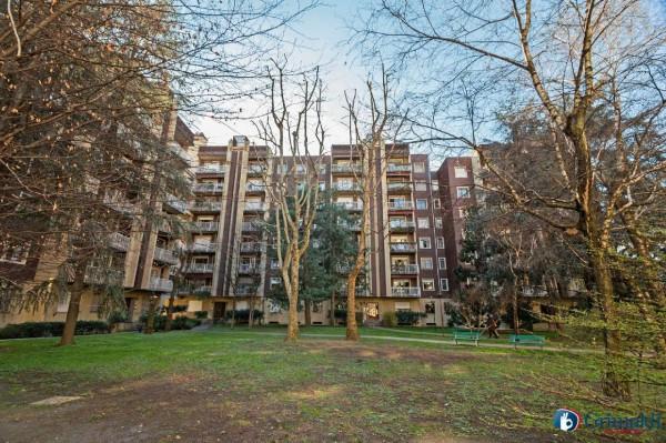 Appartamento in vendita a Milano, Con giardino, 180 mq - Foto 38