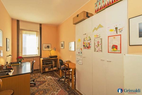 Appartamento in vendita a Milano, Con giardino, 180 mq - Foto 18