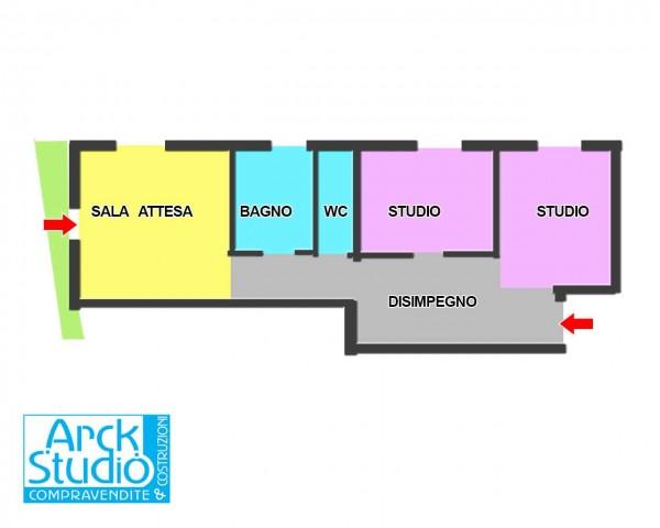 Appartamento in vendita a Cassano d'Adda, Groppello, Con giardino, 70 mq - Foto 2