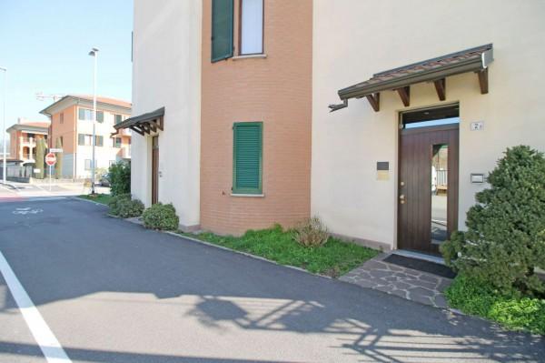 Appartamento in vendita a Cassano d'Adda, Groppello, Con giardino, 70 mq - Foto 16