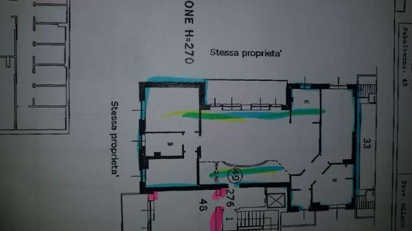 Appartamento in vendita a Rozzano, Chiesa, Arredato, con giardino, 190 mq - Foto 2