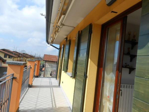 Appartamento in vendita a Trescore Cremasco, Residenziale, Con giardino, 90 mq