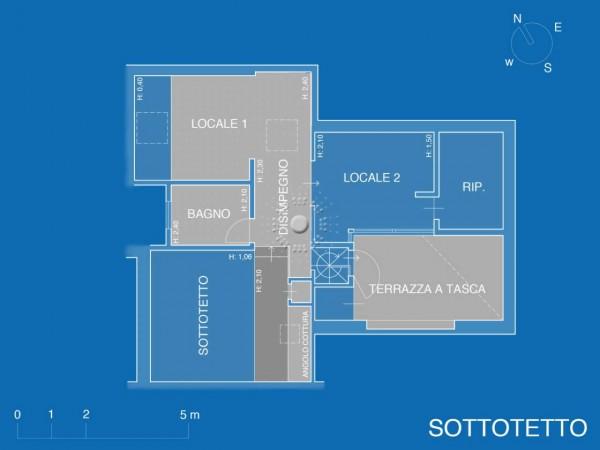Appartamento in vendita a Firenze, Con giardino, 152 mq - Foto 14