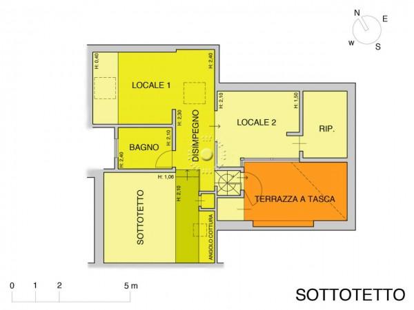 Appartamento in vendita a Firenze, Con giardino, 152 mq - Foto 2