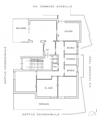 Appartamento in vendita a Roma, Talenti, Arredato, 200 mq - Foto 2
