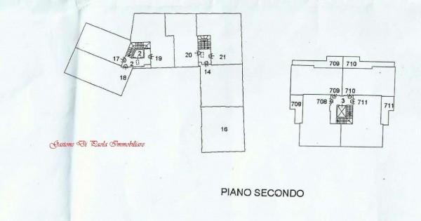 Appartamento in vendita a Mezzago, Centro Storico, 84 mq - Foto 11