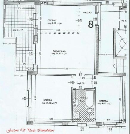 Appartamento in vendita a Mezzago, Centro Storico, 84 mq - Foto 7