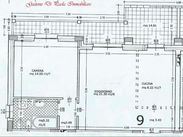 Appartamento in vendita a Mezzago, Con giardino, 74 mq - Foto 7