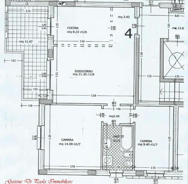 Appartamento in vendita a Mezzago, Con giardino, 74 mq - Foto 4