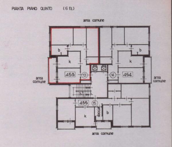 Appartamento in vendita a Torino, Falchera, Con giardino, 120 mq - Foto 2