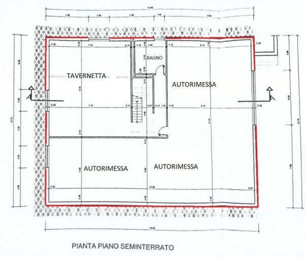 Villa in vendita a Givoletto, Con giardino, 395 mq - Foto 2