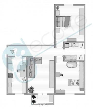 Appartamento in vendita a Cologno Monzese, Centro, 85 mq - Foto 3