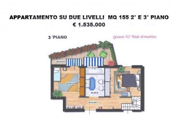 Appartamento in vendita a Milano, Centro Storico, Con giardino, 155 mq - Foto 23