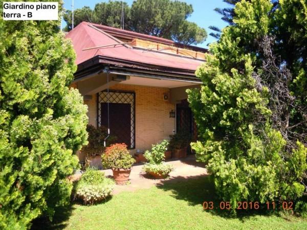 Villa in vendita a Roma, Eur, Con giardino, 350 mq