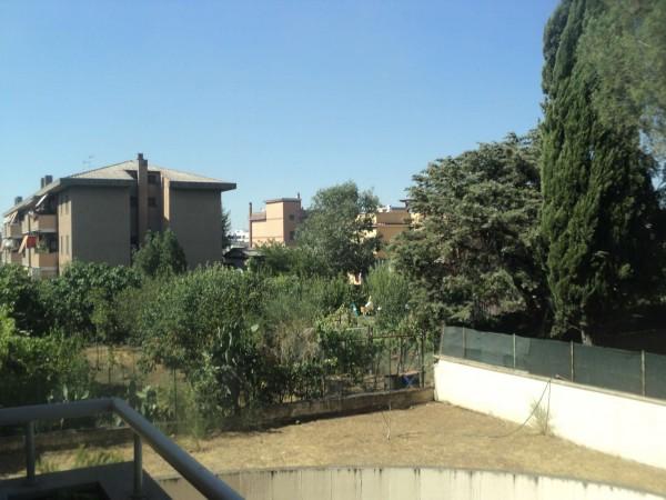 Appartamento in vendita a Roma, Romanina, Arredato, con giardino, 75 mq