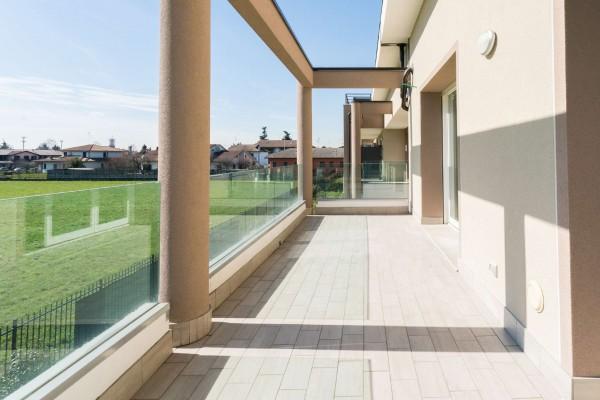 Appartamento in vendita a Cernusco sul Naviglio, Con giardino, 154 mq - Foto 22