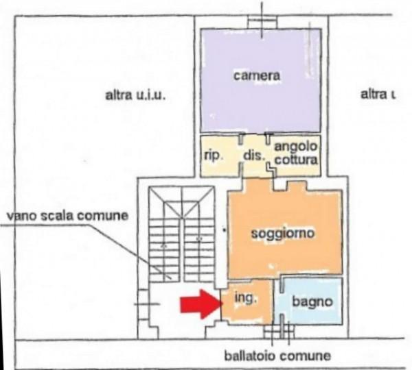 Appartamento in vendita a Monza, Ospedale San Gerardo, Arredato, 55 mq - Foto 2