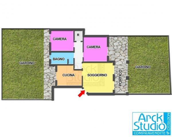 Appartamento in vendita a Cassano d'Adda, Annunciazione, Con giardino, 108 mq - Foto 18