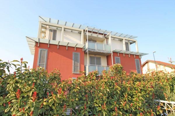 Appartamento in vendita a Casirate d'Adda, Con giardino, 102 mq