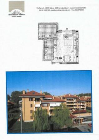 Appartamento in vendita a Peschiera Borromeo, San Bovio, Con giardino, 51 mq - Foto 2