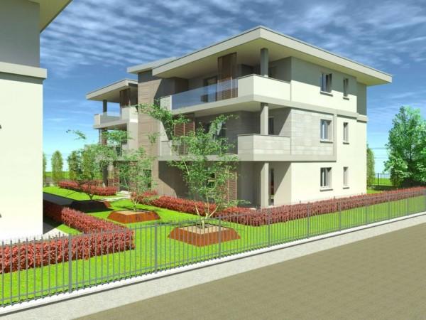 Appartamento in vendita a Cassano d'Adda, Civico9 Greenlife, Con giardino, 97 mq - Foto 3