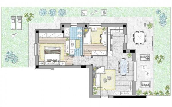 Appartamento in vendita a Cassano d'Adda, Civico9 Greenlife, Con giardino, 97 mq - Foto 6