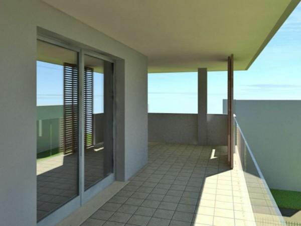 Appartamento in vendita a Cassano d'Adda, Civico9 Greenlife, Con giardino, 93 mq - Foto 3