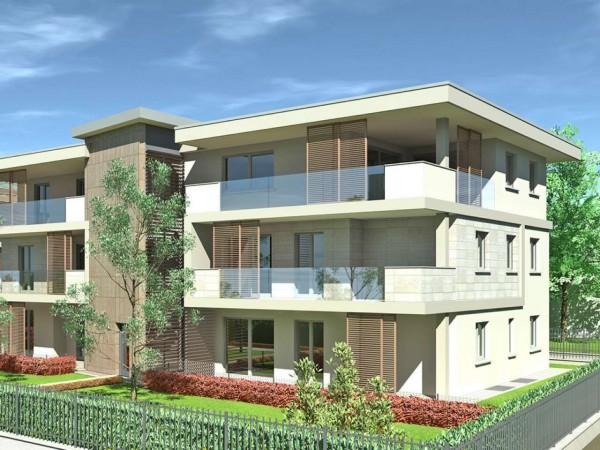 Appartamento in vendita a Cassano d'Adda, Civico9 Greenlife, Con giardino, 93 mq - Foto 12