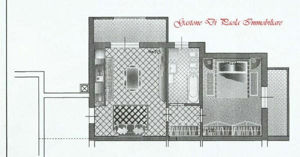 Appartamento in vendita a Cesate, Stazione, Con giardino, 62 mq - Foto 2