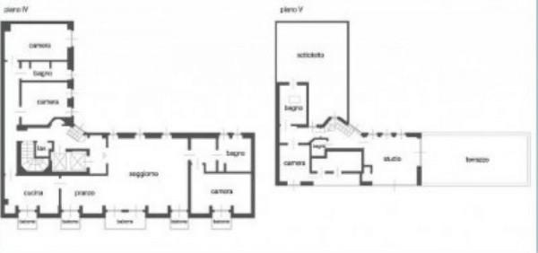 Appartamento in affitto a Milano, Monforte, Con giardino, 240 mq - Foto 15