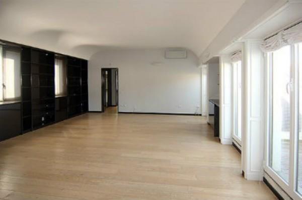 Appartamento in affitto a Milano, Monforte, Con giardino, 240 mq - Foto 24