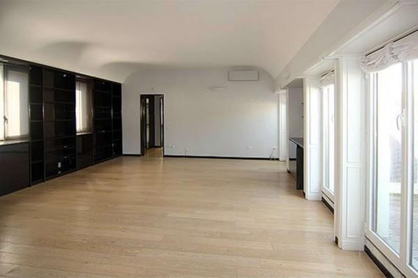 Appartamento in affitto a Milano, Monforte, Con giardino, 240 mq - Foto 3