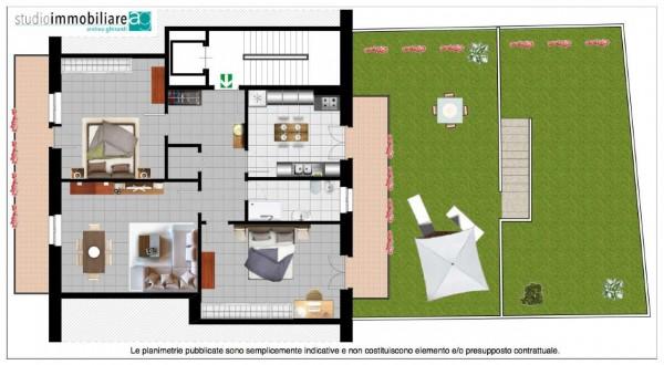 Appartamento in vendita a Genova, Sestri Ponente, Con giardino, 119 mq - Foto 2